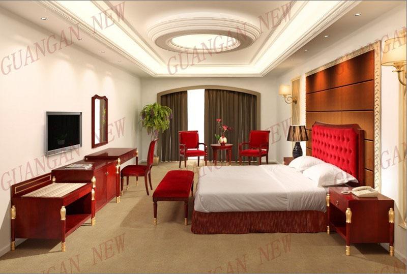 تصميم الترف الملكي مجموعة غرف نوم الفندق دبي( tf   1014) مجموعات