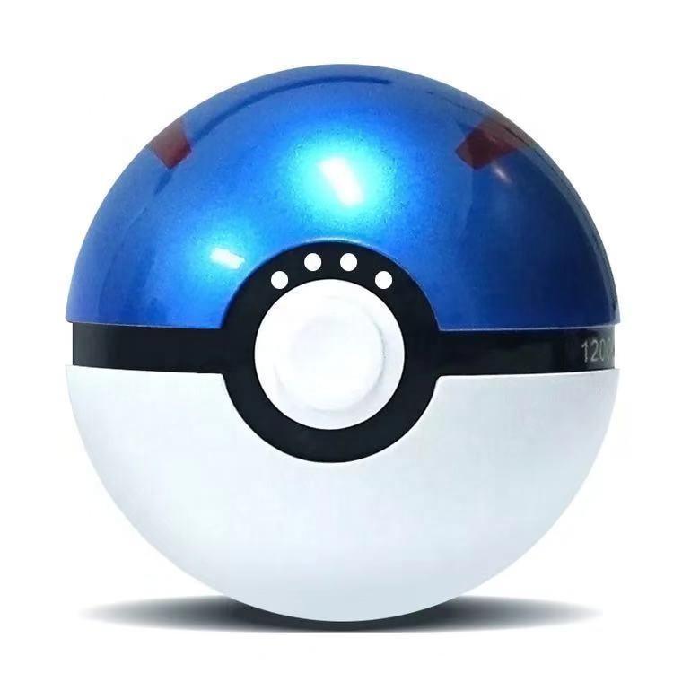 2019 hot selling Pokeball Pokemon go portable USB charger 12000mAh power bank