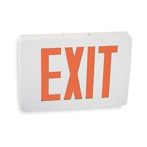 ACUITY LITHONIA Cast Aluminum LED Exit Sign