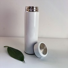 Stainless Steel Thermos Warm White Travel Coffee Sublimation Mug