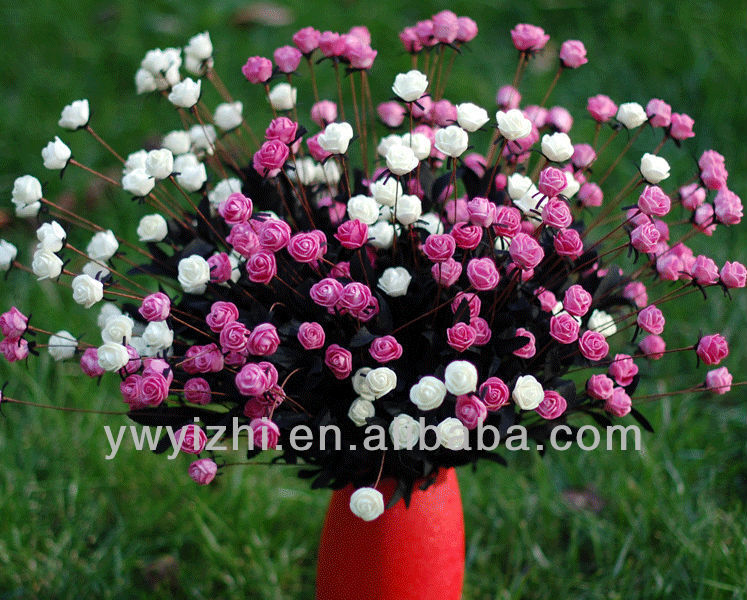 wholesale hot saling artificial mini rose flower