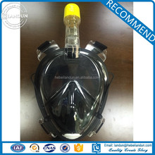 Integrated Full Face Scuba Diving Mask With Earplug
