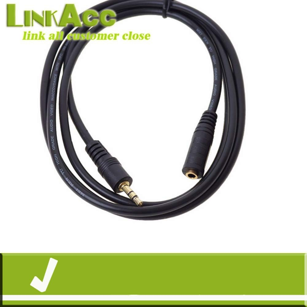 Linkacc3sT Stereo Speaker Headphone Aux Extension Cable Lead Wire 3.5mm