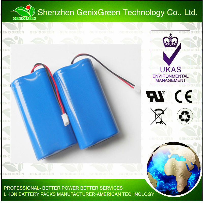 Li-ion 18650 3.7V/ 4400 Battery Pack Perfect for DLP