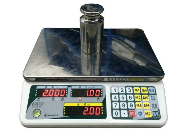 A88 30kg Electronic Weighing Scale