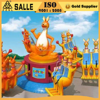 Cute Vivid Model Thrill Rides for Adults Kiddie/Kiddy Amusement Kangaroo Jumping Rides