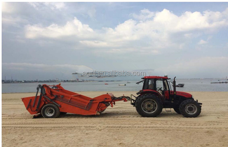 Good Quality Beach Sand Cleaner Cleaning Machine Sweeper Drived By Tractor Product On Alibaba