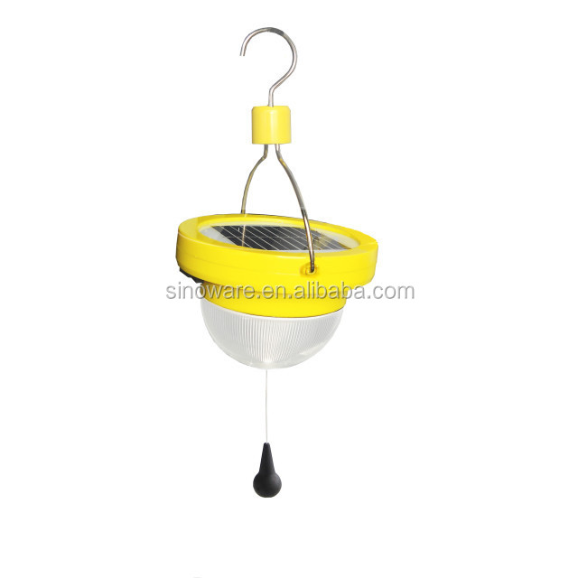 Anywhere Lighting Sinoware Ip 54 Solar Camping Lantern With Hook ...