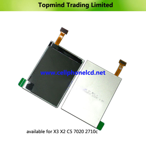 For Nokia LCD X3-00 X2-00 C5-00 7020 2710c LCD Display