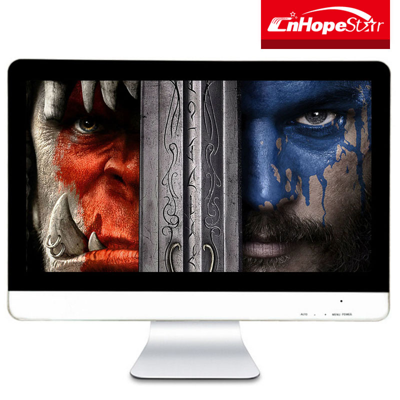 Pixel 1920x1080 resolution 21.5 inch lcd computer monitor