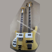 Weifang Rebon Double neck <span class=keywords><strong>Ricken</strong></span> Links hand <span class=keywords><strong>elektrische</strong></span> <span class=keywords><strong>gitarre</strong></span>