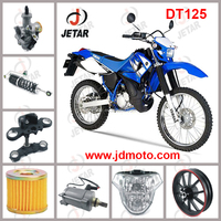 DT125 motorcycle spare parts electrical CDI battery rectifier