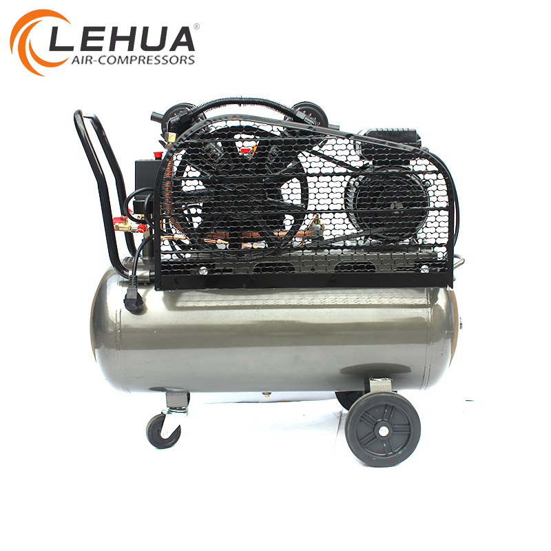 Alta calidad Cixi 2hp dos cilindro pistón 100L compresor de aire tipo V