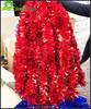 Christmas tinsel garland for Christmas tree party decoration