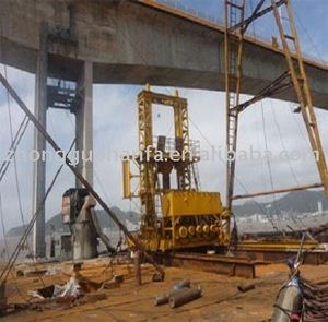 KP3500 Type Full Hydraulic Engineering Drill equipment used in Zhoushan Zhujiajian bridge construction