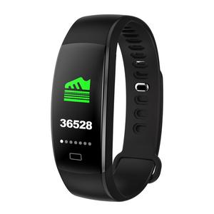 OEM Bluetooth CE ROHS Smart Bracelet Manual Watch Blood Pressure Fitness Activity Tracker