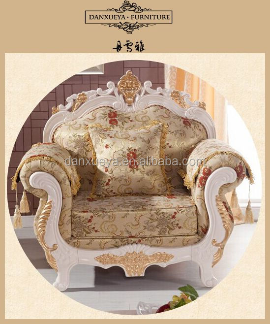 Chinese style Classic antique single sofa