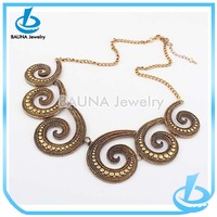 Traditional antique gold chain indian ethnic jewelry
