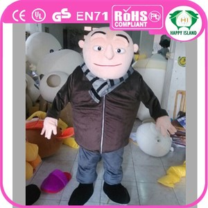HI CE Promotion Funny Gru mascot costume for sale