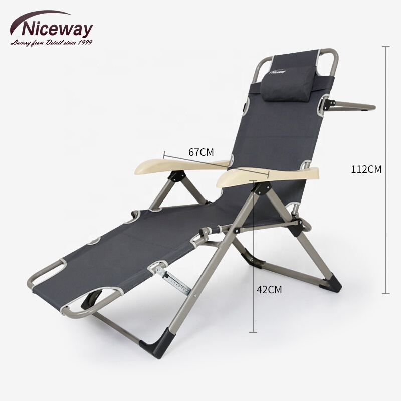 Surprising Outdoor Folding Chairs Camping Chairs With Footrest Cup Holder Adjustable Back Heavy Duty Multi Functional Recliners For Hiking Buy Recliner Chair Machost Co Dining Chair Design Ideas Machostcouk