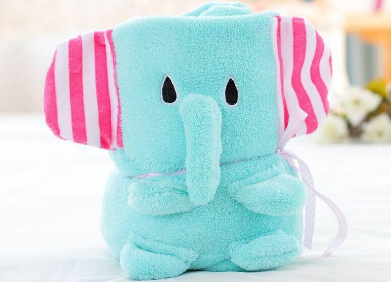 Cute Baby Blanket Bedding Blanket Bedding Set Baby Blanket Baby Bed Bath Towel Play Mat 3pcs