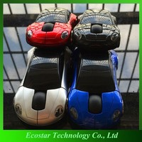 Promotional car shape wireless mouse for macbook