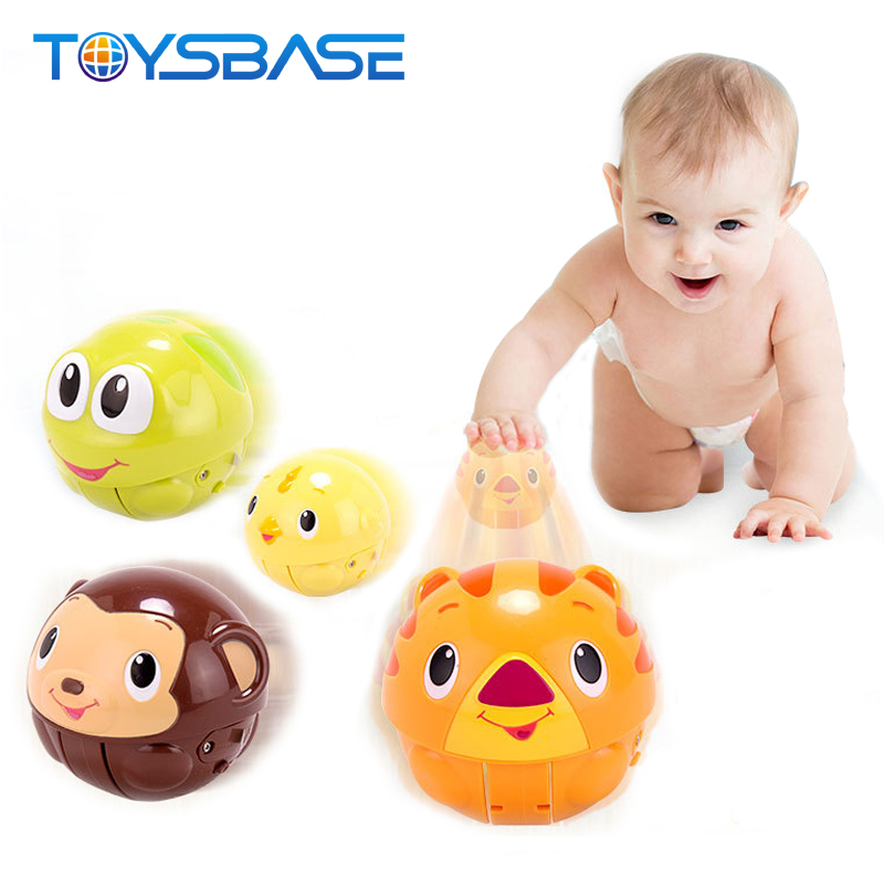 2018 New Products Baby Toy 8 Pcs Lovely Cartoon Tumbler Toy