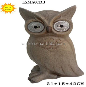 Garden Owl Statue Solar Lights