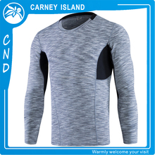 custom compression tights athletics Fast Drying Fitness mens dry fit long sleeve t shirt