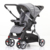 Removable front&up tray EN1888 approved adjustable stroller baby