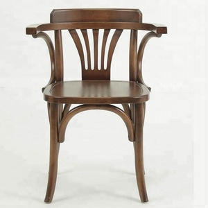 birch wood antique dining wooden chair