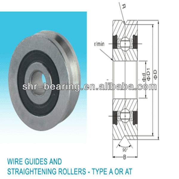 Low price! Wire guides and straightening rollers A1002.2Z/2RS