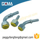 22191 BSPP female mutiseal quick forged aluminum pipe gas tight fitting pipe gas tight fitting quick forged