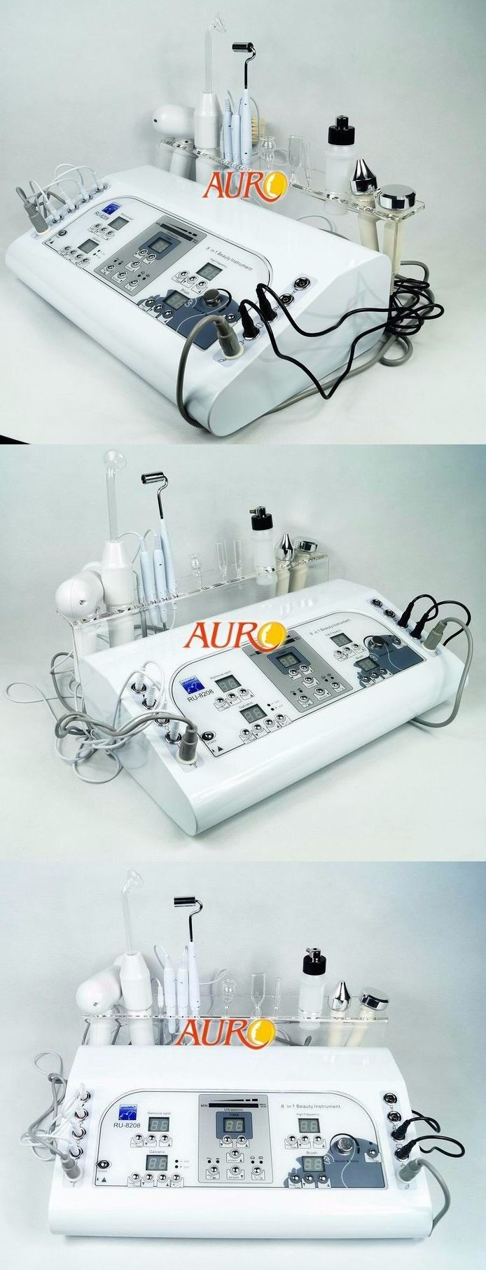 Au-8208 Best selling 7-in-1 multifunctional cheap facial tool beauty salon equipment