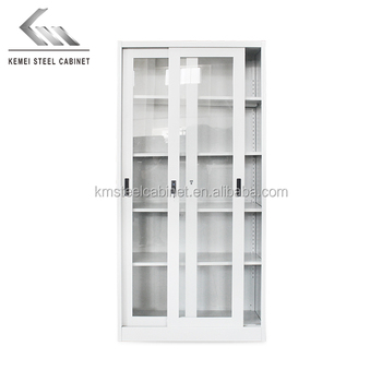 Steel Sliding Glass Door Storage Filing Cabinet Buy Steel Sliding