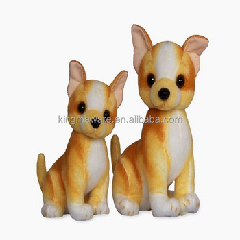 Realistic Plush Chihuahua Dog Lifesize Stuffed Chihuahua Plush Soft
