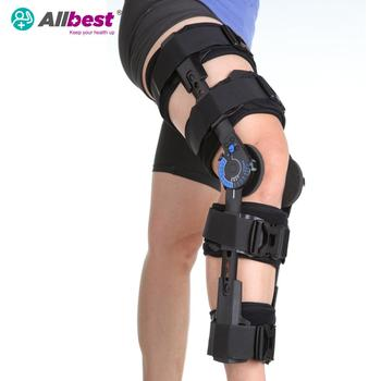 ADJUSTABLE GAITER HINGED KNEE BRACE