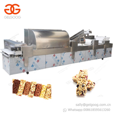 Best Price Fully Automatic Energy Cereal Bars Maker Peanut Fruit Candy Production Line Sesame Snack Bar Cutting Machine