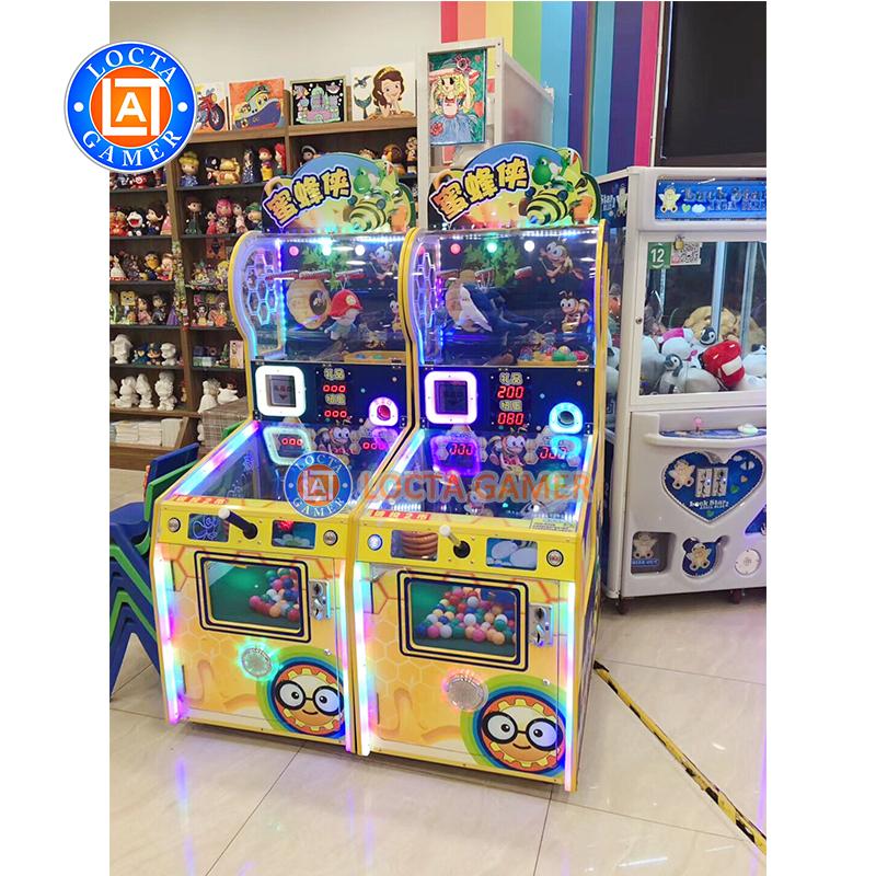 इनडोर सिक्का ढकेलनेवाला कार्निवल लॉटरी खेल मशीन मनोरंजन आर्केड खेल मोचन खेल के लिए बिक्री
