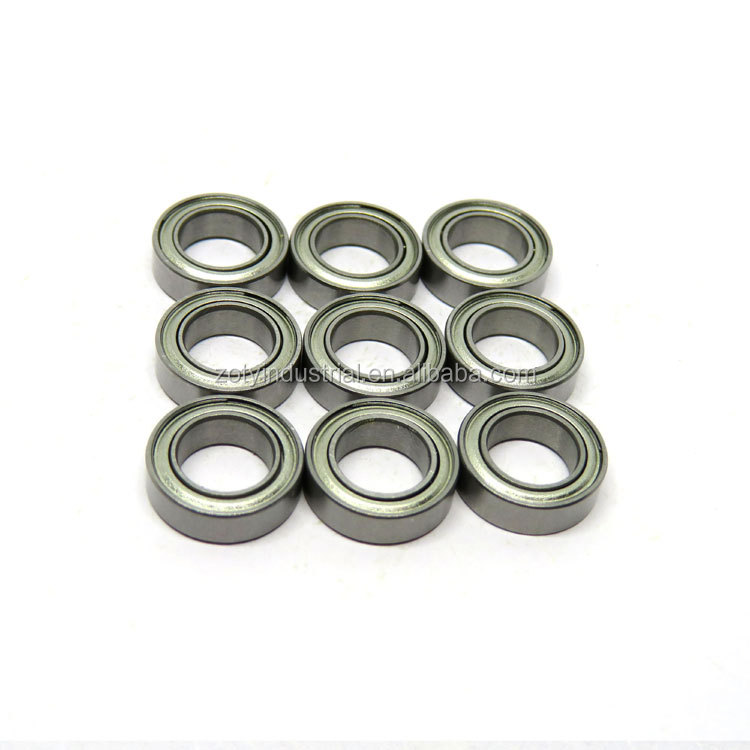 10x Kugellager 681 1x3x1 mm Rillenkugellager Miniaturkugellager