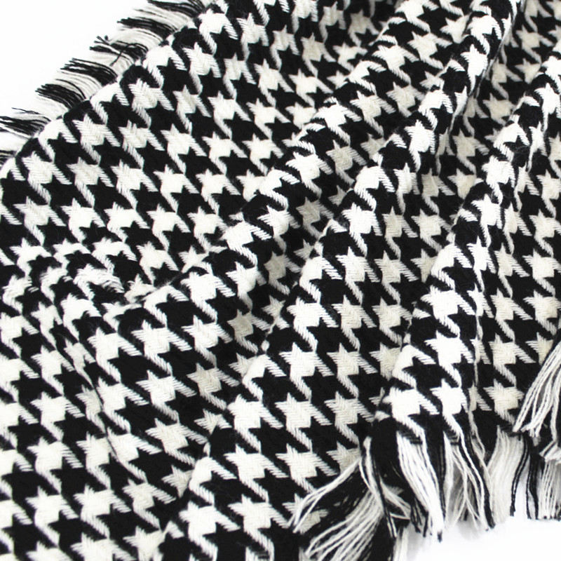 Hot sale new arrival women winter design houndstooth scarf shawl