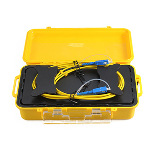 Fiber Optic OTDR Launch Cable Box Single mode 1Km SC/UPC-SC/UPC Fiber
