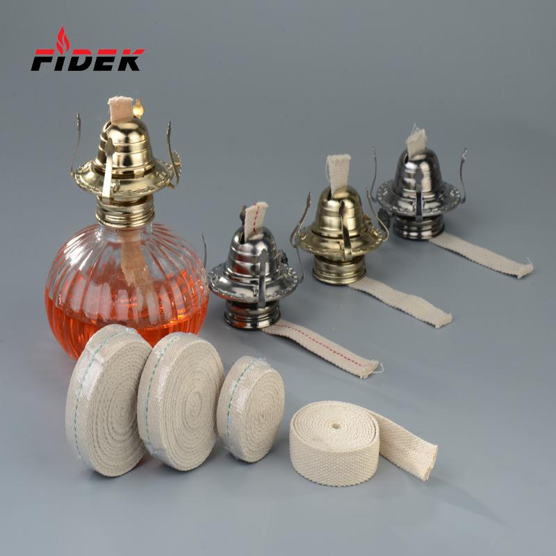 2017 จีนผลิตตะเกียงน้ำมันผู้ถือตะเกียงผ้าฝ้ายไส้ตะเกียงสำหรับเทียนไส้ตะเกียง