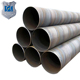 High Quality SSAW API 5L X50 X42 X60 X65 Black painted spiral welded pipes bs1387erw pipe