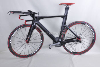 Dengfu Professional Time Trial Bicycle Frame Carbon Tt Bike Size