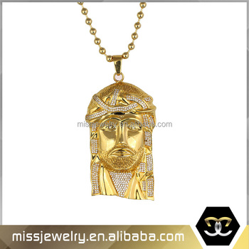Missjewelry mjhp056g promotional white gold jewelry jesus pendant missjewelry mjhp056g promotional white gold jewelry jesus pendant wholesale 18k solid gold body jewelry aloadofball Image collections