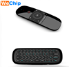 New arrival wireless remote wechip w1 mini Keyboard Fly Mouse Remote Control wechip w1 Yura