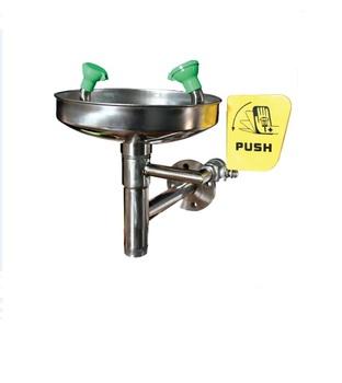 Wall Mounted Industrial Safety Equipment Faucet Eyewash Stations Buy Wall Mounted Eyewash