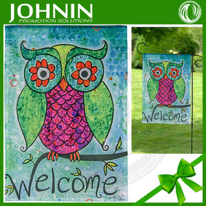 Fishional High Quality Customized Bothside Manufactural Garden Flags