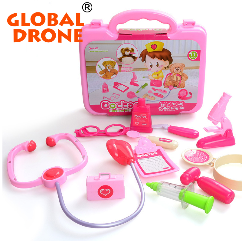 소년/소녀 재생 집 장난감 의사 키트 세트 의료 도구 왜냐하면 ...